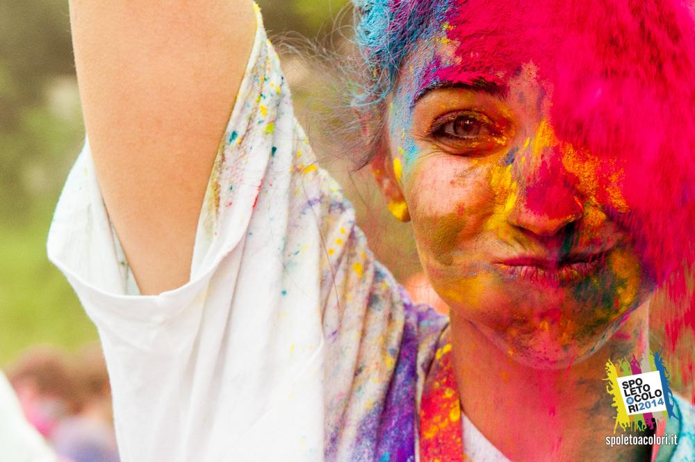 Foto COLORmob polveri colorate Edizione 2014