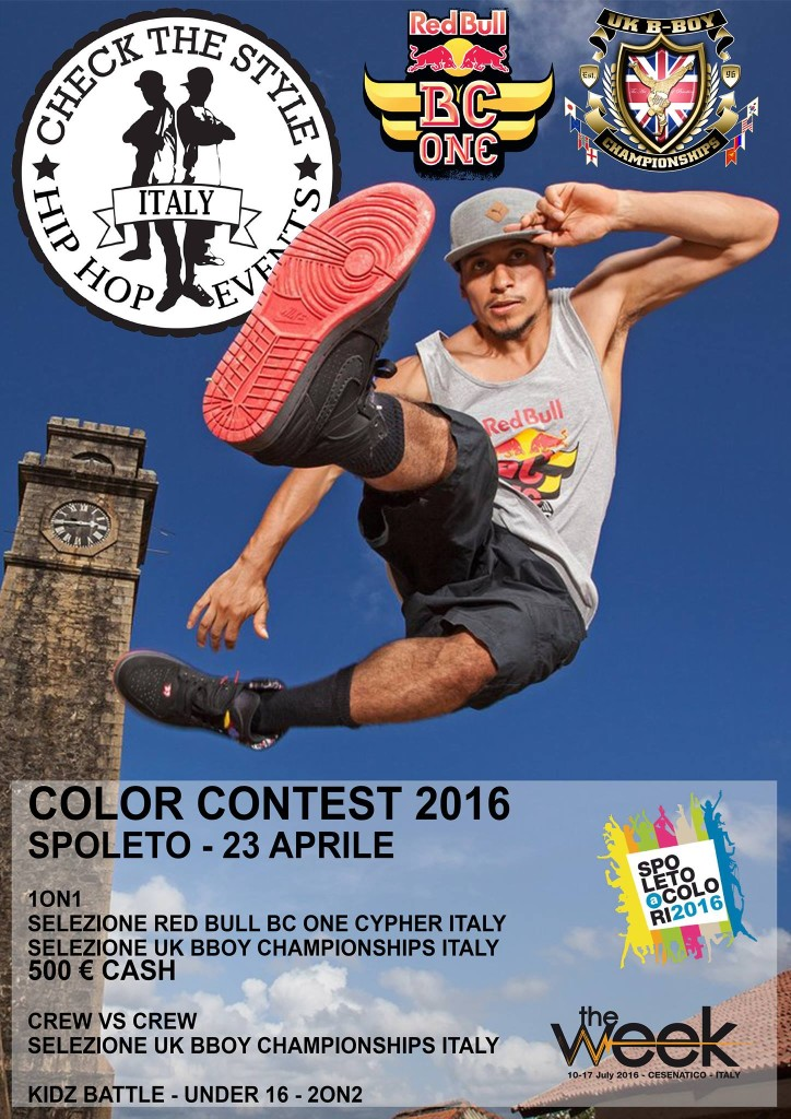 locandina color contest 2016
