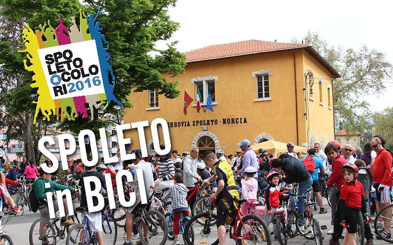 Spoleto in Bici 2016