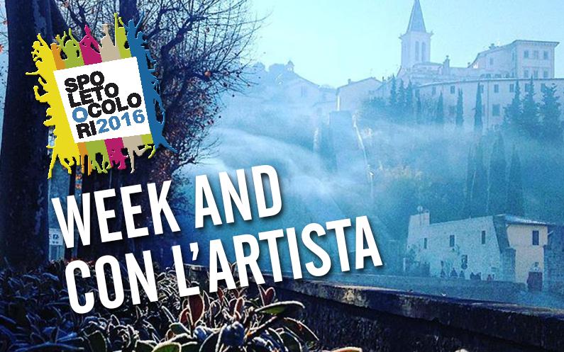 WEEK END CON L'ARTISTA 2016