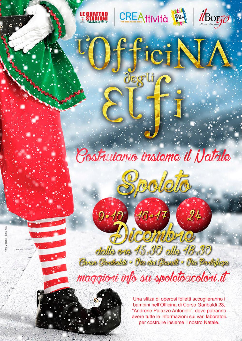L'Officina degli Elfi - Locandina - Spoleto 2017